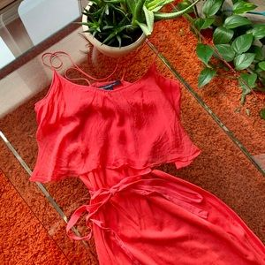 French Connection Coral dress